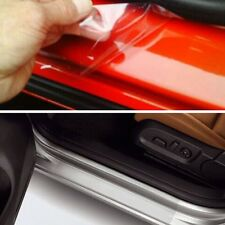 Door Clear Sill ANTI Scratch Guard Vinyl Trim Car Truck Van + Squeegee 120' x 4'