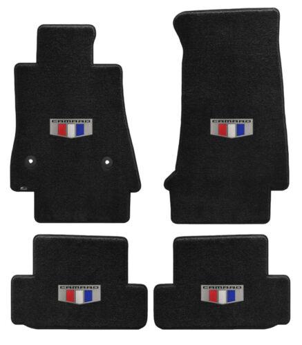 Lloyd VELOURTEX Custom 4PC FLOOR MAT SET 2016 to 2020 Camaro *Logo on each mat