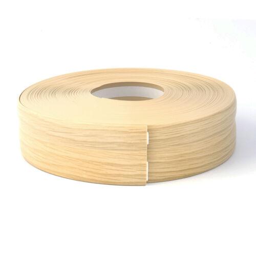 LIGHT OAK FLEXIBLE SKIRTING BOARD 32mm x 23mm PVC versatility of applications