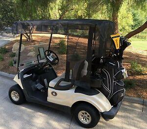 Golf cart sun shade cover design exclusively for yamaha for Yamaha golf cart repair near me