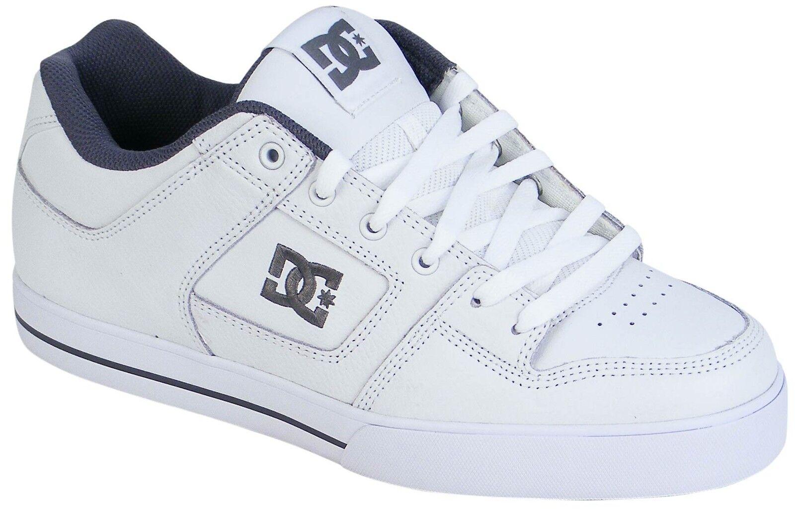 DC Pure Shoe - White / Battleship / White - New
