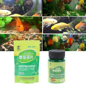 Spirulina-Tabletten-Fischfutter-Aquarium-Aquarium-Fischfutter-Algen-Heimtierbed