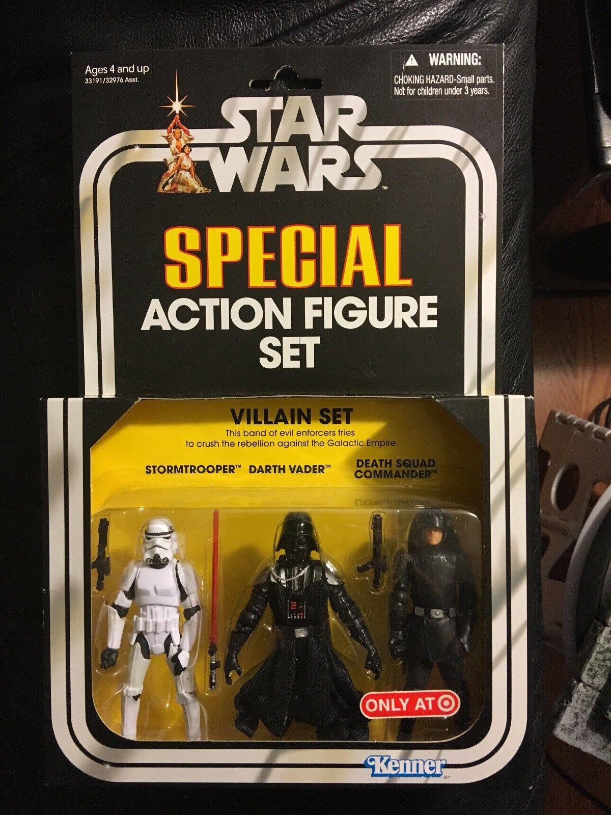 Star - wars - special action - figur bösewicht festgelegte ziel von kenner exklusiv