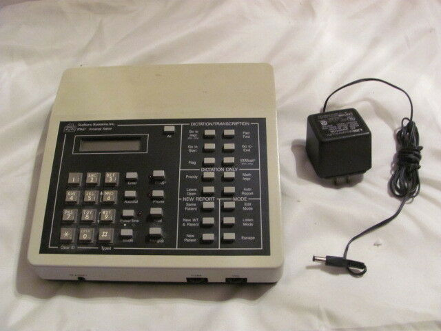 RTAS 460025 Dictation   Transcription Base Unit - USED - Great Condition