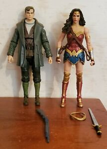 DC Multiverse Justice League WONDER WOMAN  Action Figure Loose New Steppenwolf