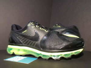 buy popular b1f36 e6aae Image is loading Nike-Air-Max-2010-ATTACK-PACK-360-BLACK-