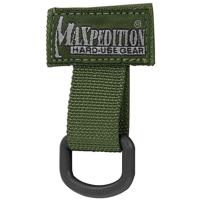 MAXPEDITION TACTIQUE T-RING CHASSE NYLON MOLLE SANGLE ATTACHE ANNEAU VERT VERT VERT 1ac426