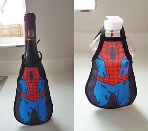 Image Is Loading Wine Bottle Cover Superhero Mini A Secret Santa