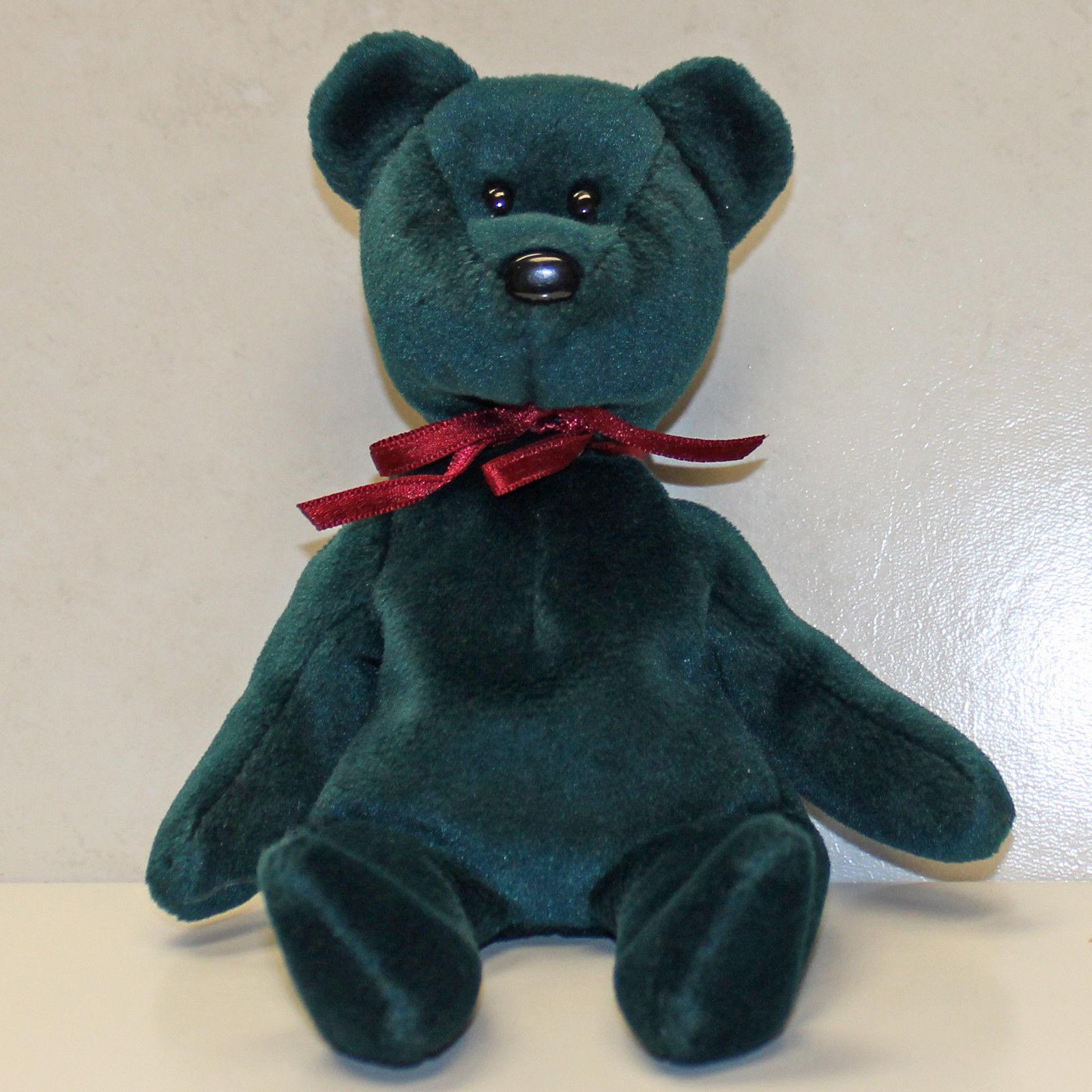 Teddy nf jade - nht - 1 gen hintern - tag - ty beanie baby (sp)