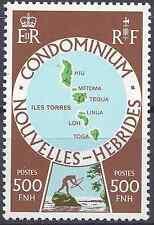 NOUVELLES HÉBRIDES N°507 - NEUF ** LUXE GOMME D'ORIGINE - COTE 21€