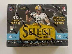 2020 Panini NFL Select Football Mega Box (Factory Sealed) Free Shipping