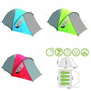 Image is loading YELLOWSTONE-Tent-Ascent-4-4-Man-Person-C&ing-  sc 1 st  eBay & YELLOWSTONE Tent Ascent 4 - 4 Man Person Camping Festival Quick ...