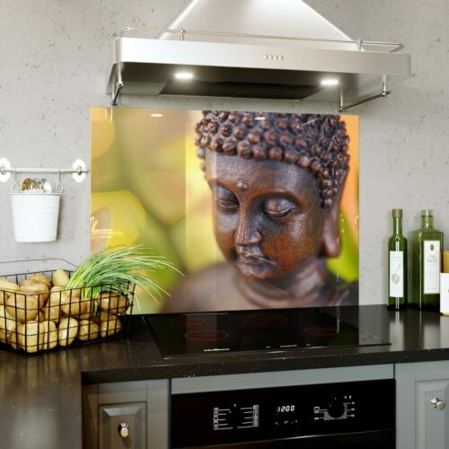 Verre Splashback Cuisine Cuisinière Panneau Toute Taille bouddha hindou Yoga Méditation 0519