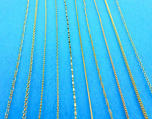 30-10X-Wholesale-Fashion-Making-Jewelry-18K-Gold-Filled-Box-Necklaces-Chains