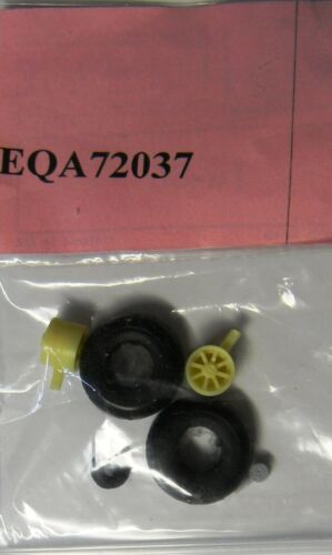 EQA72037 Equipage 1//72 Rubber Wheels forJunkers Ju-86