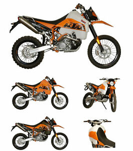 Details about KTM 950R Super Enduro 30L Safari Long Range Fuel Tank Petrol  Gas Orange