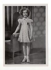 Shirley Temple 1937 Union Dresden Film Star Series 16 5 X 7 Cigarette Photo Card