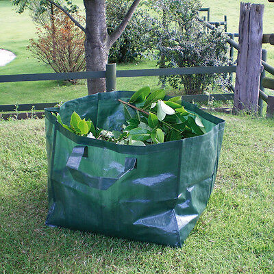 Large Heavy Duty Strong Garden Waste Refuse Rubbish Bag Sack 60/120/180L /Pop Up