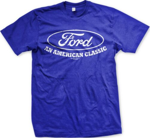 Officially Licensed Slogans  Statements Ford An American Classic Men/'s T-shirt