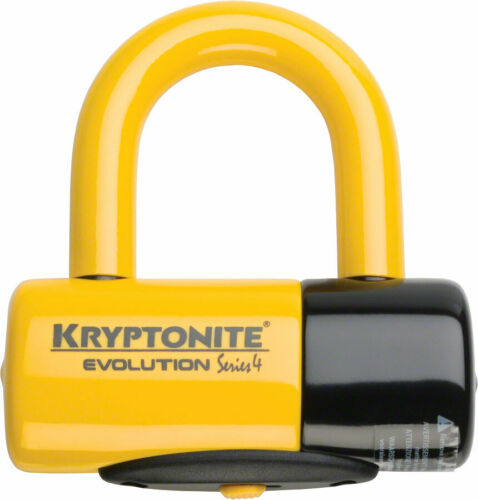 "Keyed 1.8 x 2.1/"" Black Kryptonite Evolution Series U-Lock"