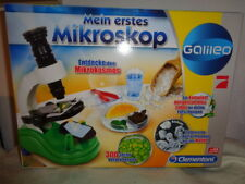 Clementoni galileo mein erstes mikroskop experimentierkasten ebay