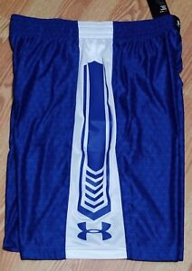 UNDER-ARMOUR-UA-MEN-LOOSE-FIT-BASKETBALL-SHORTS-SIZE-M-BLUE-WHITE-1282997-400