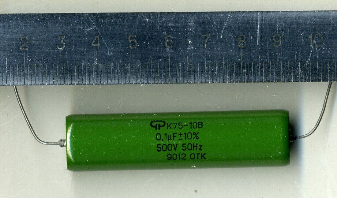 10x U104M34Y5UF5TL5H PHILIPS CAPACITOR 0.1UF 50V CERAMIC DISC 10//units
