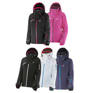 Details about Salomon Speed Jacket Damen Ski Jacket Snowboard Jacket Functional Jacket New