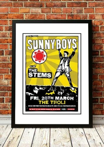 SUNNYBOYSAustralian Rock Band Concert Posters11 to choose from.