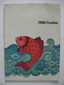 Findus Fischalbum, 1969, komplett, mit Zahlkarte