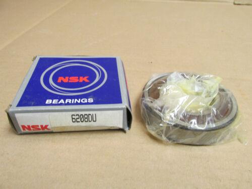 NIB NSK 6208 DU BEARING RUBBER SHIELD 1 SIDE 6208DU 6208RS 6208 RS 40x80x18 mm