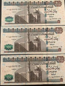Egypt-3-Notes-Of-100-Pounds