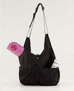 lululemon post savasana tote bag black large carryall