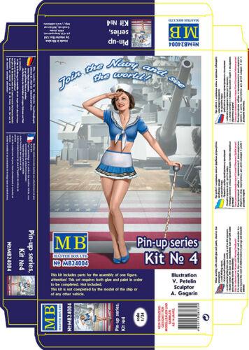 "Army Gilr /""Suzie/"" plastic kit 1//24 Master Box 24004 Pin-up series Kit No4 U.S"
