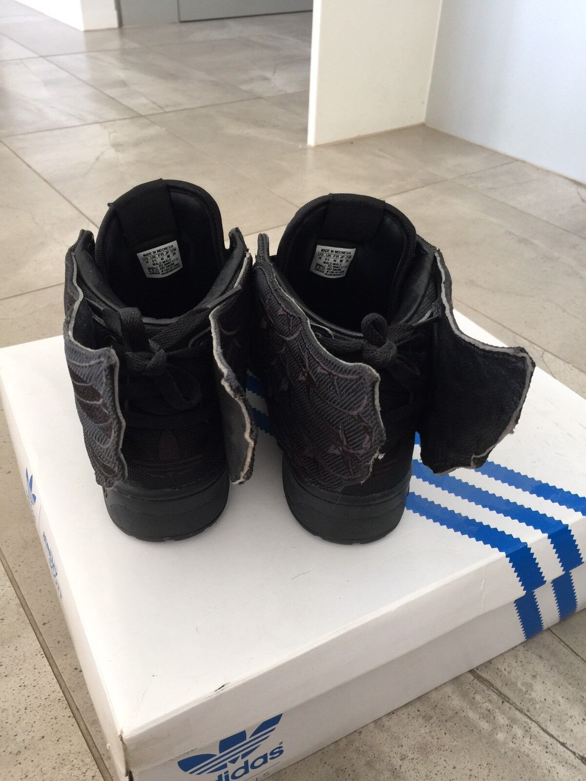 Adidas ASAP Rocky JS Wings 2.0 Forum Hi High 10 superstar top ten Rivalry Hi Forum Black ae5677