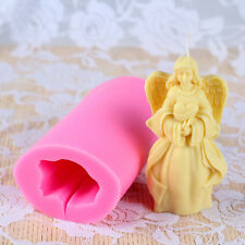 3D Fairy Silicone Soap Molds Candle Making Tools DIY Chocolate Candy Craft Clay