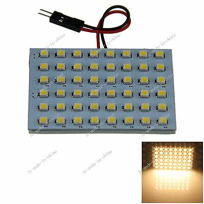 1pcs Warm White 48 3528 LED Festoon Dome/Door/Box Light Panel Interior Bulb J107
