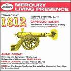 Tchaikovsky: 1812 Festival Overture; Capriccio Italien; Beethoven: Wellington's Victory (CD, Dec-1995, Mercury)