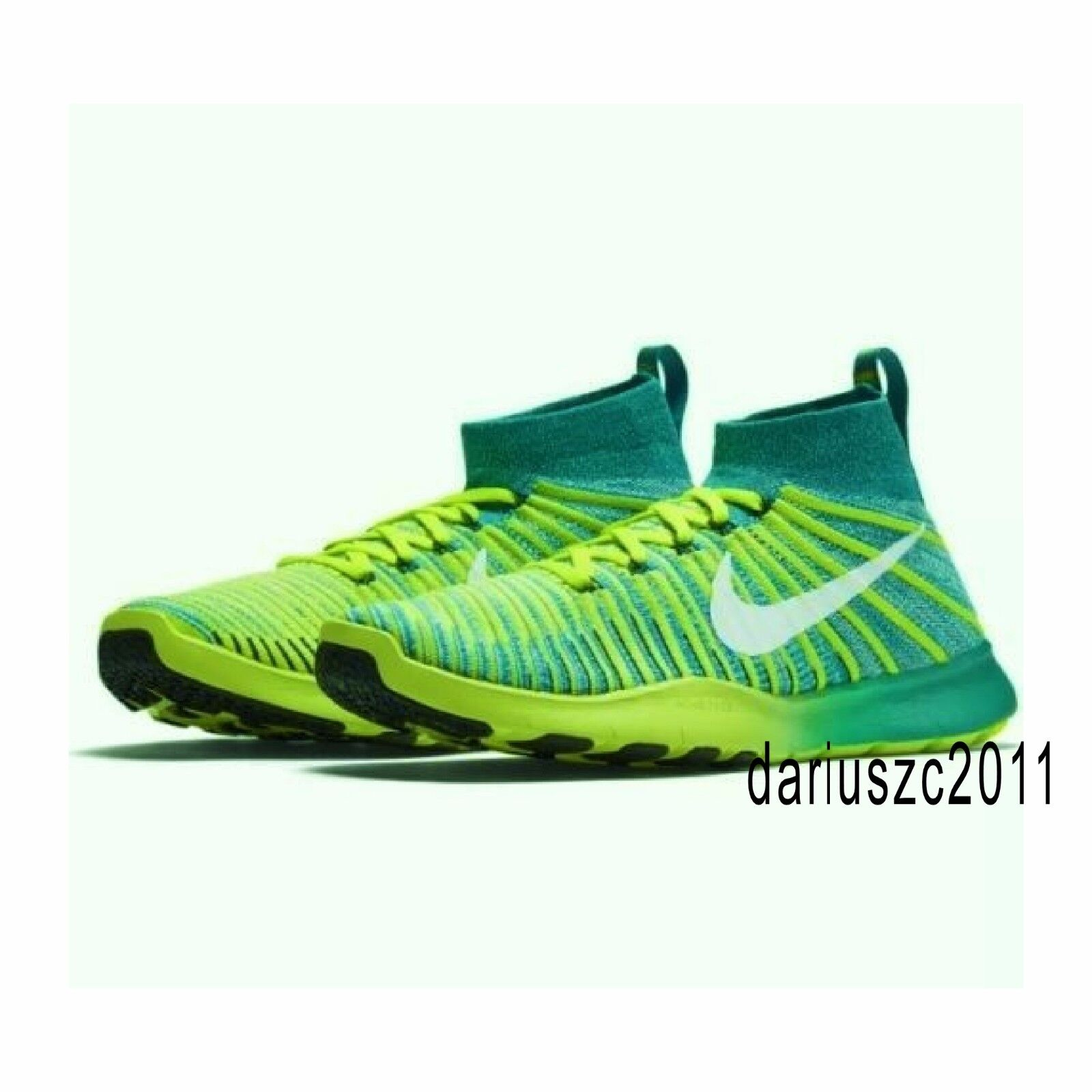 f1f4d1cdf60  150 Nike Free Train Force Flyknit Men s Athletic Shoes Shoes Shoes 11.5  Rio Teal 833275 c24e5c Nike Metcon 3 DSX Flyknit Trainers Volt Black White  ...