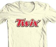 Quaker Oats T-shirt retro vintage 80/'s brands 100/% cotton graphic men tee