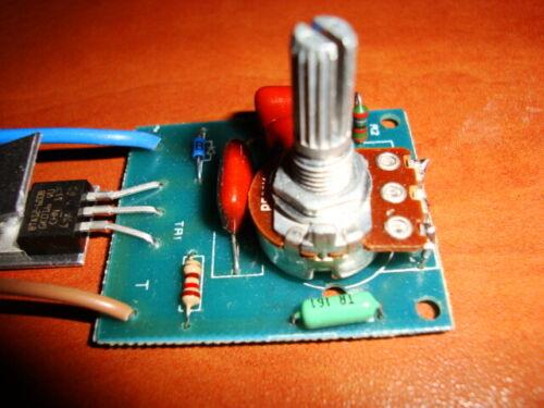 Dimmer Switch Kit 220V AC LED Light Lamp Oven Voltage Speed  Regulator 2500W