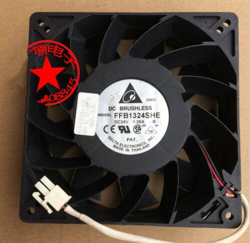 1pcs Delta FFB1324SHE 13CM 24V 1.26A 13038 inverter cooling fan