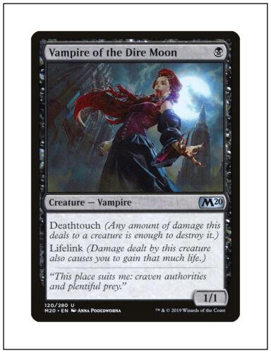 Core Set 2020 1x Vampire of the Dire Moon Magic the Gathering MTG