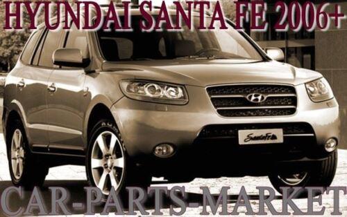For Hyundai Santa Fe 06-09 Left passenger side Electric wing mirror glass