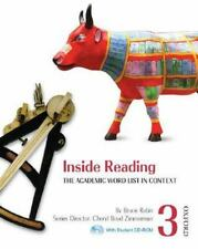 NEW - Inside Reading 3 Student Book Pack: The Academic Word List in Context