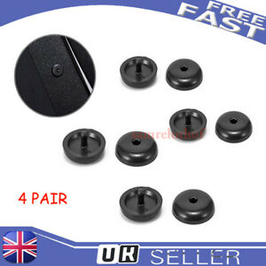 10Pcs Universal Car Seat Belt Stopper Buckle Button Fastener Safety Part Clip UK