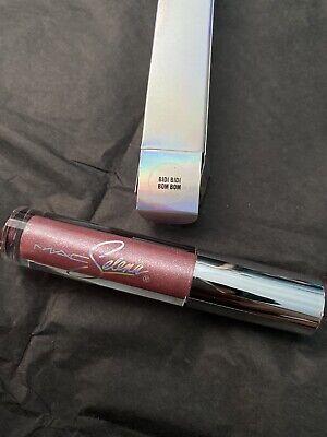 Mac Selena 2020 La Reina Collection Bidi Bidi Bom Bom Lipglass Brand New 773602565610 Ebay
