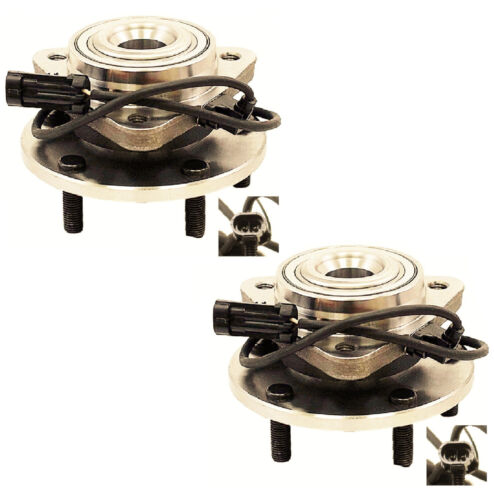 Front Wheel Hub Bearing Assembly Fit CHEVROLET BLAZER 1998-2005 PAIR 2WD