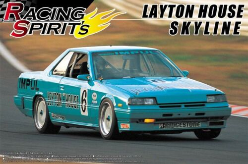 Nissan Skyline Layton House DR30 1:24 Model Kit Bausatz Aoshima 042816