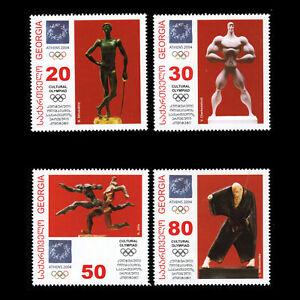 Analytique Georgia 2004-jeux Olympiques-athènes, Grèce-sc 348/51 Neuf Sans Charnière